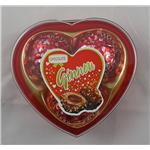 40.5g T3 crisp nut chocolates heart red